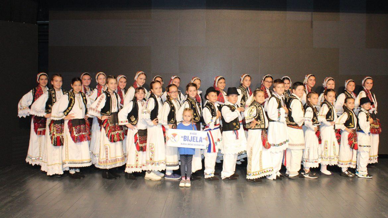 Nastup HKUD Bijela na smotri amaterskog stvaralaštva Brčko distrikta BiH