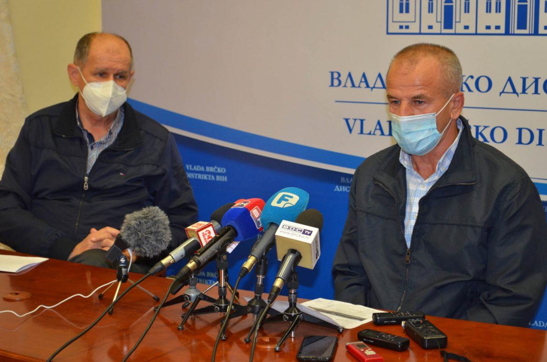 Zabrana svih javnih okupljanja u zatvorenom prostoru, obvezne maske na otvorenom u Brčko distriktu BiH