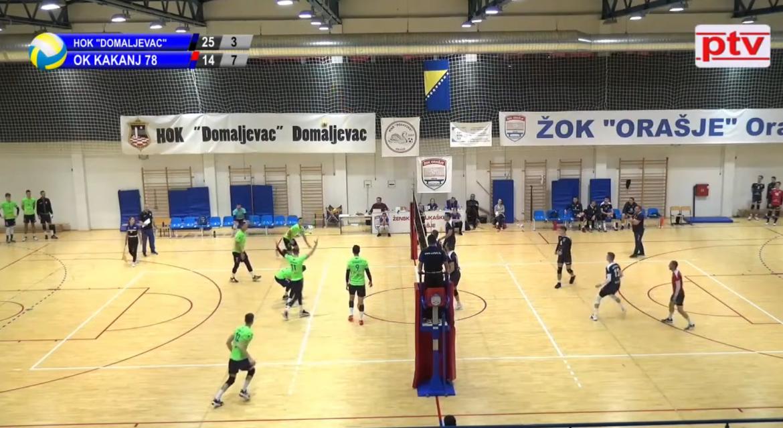 """Odbojkaši HOK """"Domaljevac"""" sinoću su pobjedom 3:1 protiv OK """"Kakanj 78"""" izborili finale KUP-a Federacije BiH."""